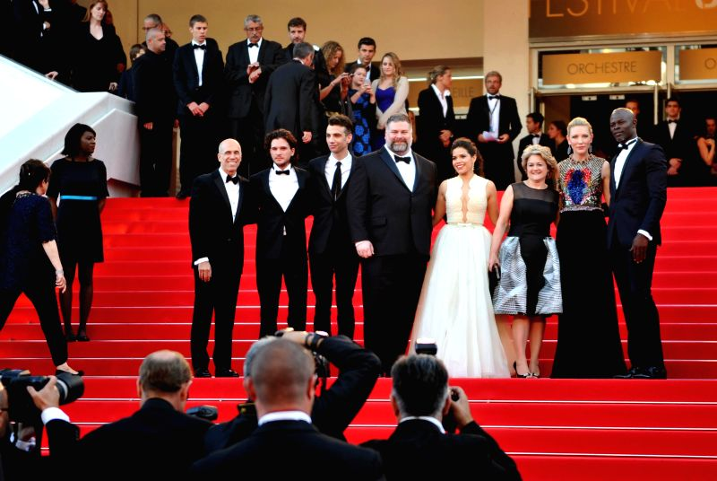 "Cast members arrive for the premiere of ""How to Train Your Dragon 2"" during the 67th Cannes Film Festival, in Cannes, France, May 15, 2014."