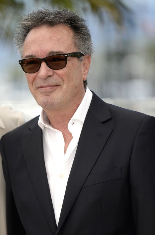 Actor Oscar Martinez poses during the photocall for 'Relatos Salvajes' (Wild Tales) during the 67th Cannes Film Festival in Cannes, France, May 17, 2014. The movie is - Oscar Martinez