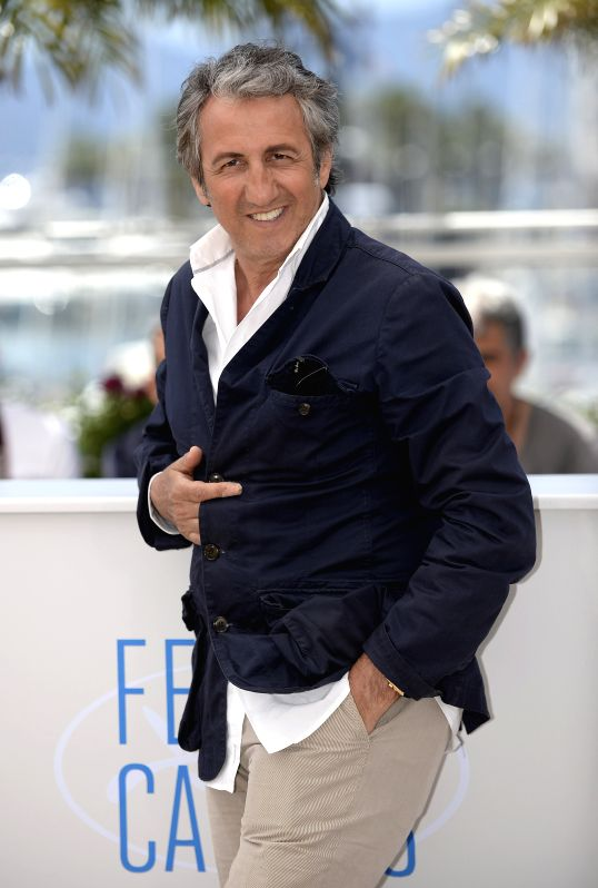 French actor Richard Anconina poses during a photocall for jury members of Camera D'or (Golden Camera) at the 67th Cannes Film Festival in Cannes, France, May 17, ... - Richard Anconina