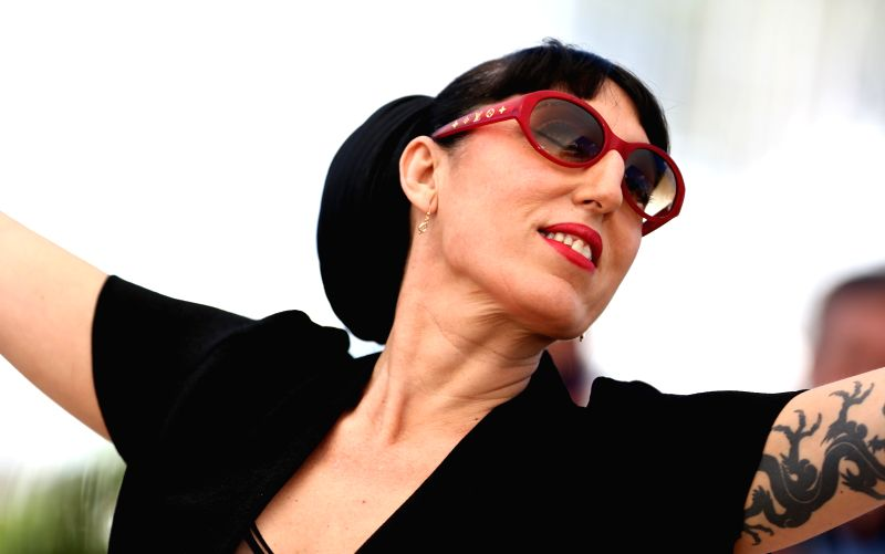 """CANNES, May 17, 2016 - Cast member Rossy de Palma poses during a photocall for the film """"Julieta"""" in competition at the 69th Cannes Film Festival in Cannes, France, May 17, 2016."""