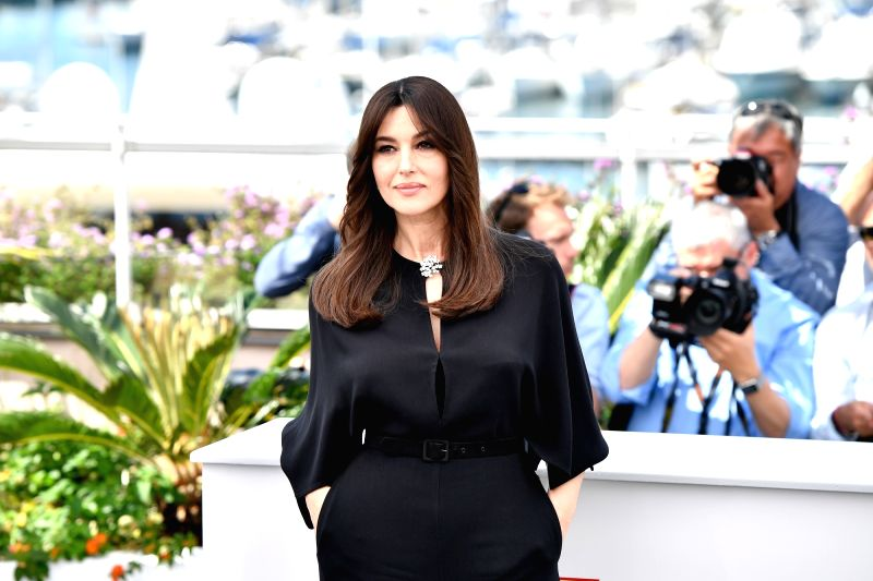 CANNES, May 17, 2017 - Italian actress Monica Bellucci poses for a photocall of the 70th Cannes International Film Festival in Cannes, France, on May 17, 2017. - Monica Bellucci