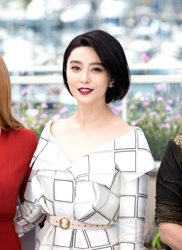 CANNES, May 17, 2017 - Jury member for the 70th Cannes International Film Festival, Chinese actress Fan Bingbing attends a photocall in Cannes, France, on May 17, 2017. - Fan Bingbing