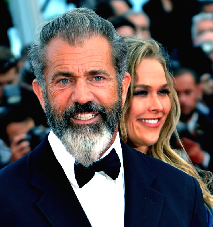 """Actor Mel Gibson of """"The Expendables 3"""" arrives at the red carpet for the screening of """"The Homesman"""" at the 67th Cannes Film Festival in Cannes, - Mel Gibson"""