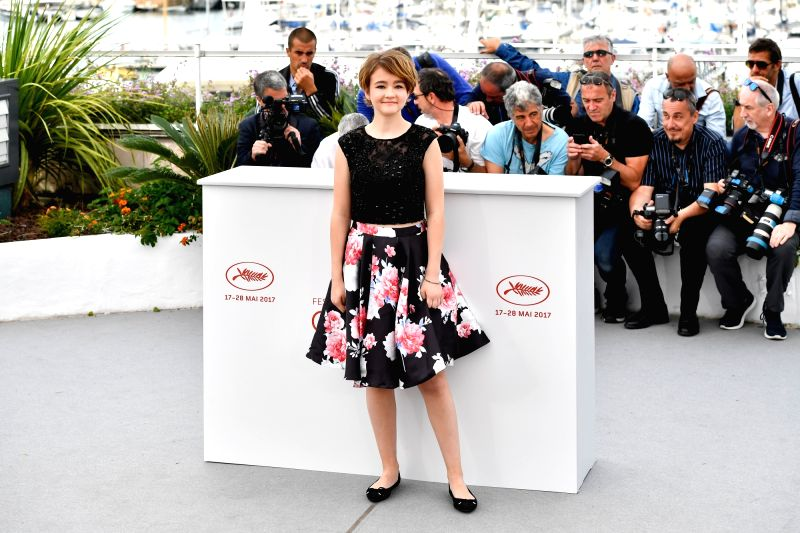 "CANNES, May 18, 2017 - Actress Millicent Simmonds of the film ""Wonderstruck"" poses for a photocall in Cannes, France, on May 18, 2017. The film ""Wonderstruck"" directed by American ... - Millicent Simmonds"