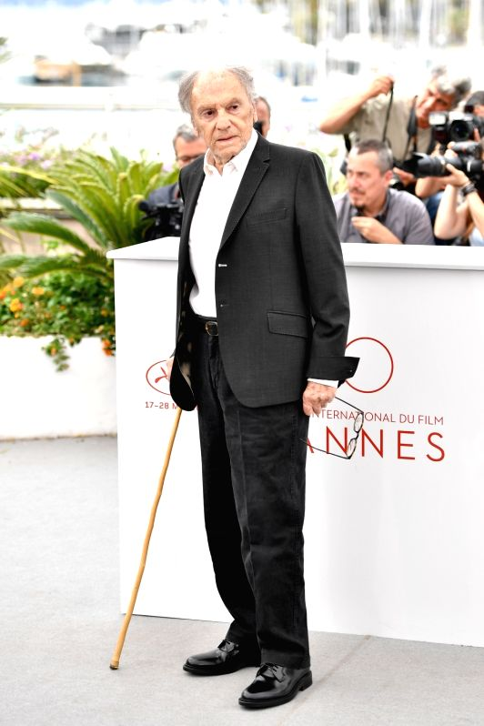 "CANNES, May 22, 2017 - Actor Jean-Louis Trintignant of the film ""Happy End"" poses for photos in Cannes, France, on May 22, 2017. The film ""Happy End"" directed by Austrian director ... - Jean-Louis Trintignant"