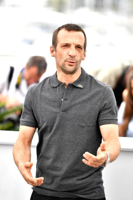 "CANNES, May 22, 2017 - Actor Mathieu Kassovitz of the film ""Happy End"" poses for photos in Cannes, France, on May 22, 2017. The film ""Happy End"" directed by Austrian director ... - Mathieu Kassovitz"