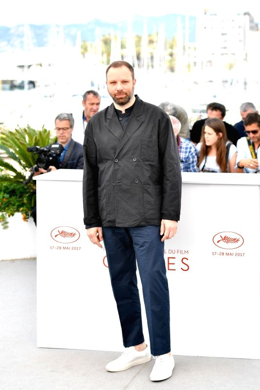 "CANNES, May 22, 2017 - Director Yorgos Lanthimos of the film ""The Killing of A Sacred Deer"" poses for photo in Cannes, France on May 22, 2017. The film ""The Killing of A Sacred ... - Yorgos Lanthimos"