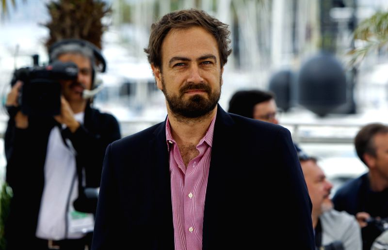 """Director Justin Kurzel poses during the photocall of the film """"Macbeth"""" in competition at the 68th Cannes Film Festival in Cannes, France, on May 21, 2015. ..."""