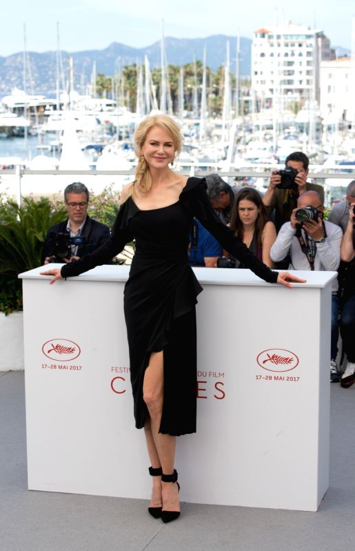 """CANNES, May 23, 2017 - Actress Nicole Kidman poses for a photocall of """"Top Of The Lake: China Girl"""" during the 70th Cannes Film Festival in Cannes, France, on May 23, 2017. - Nicole Kidman"""
