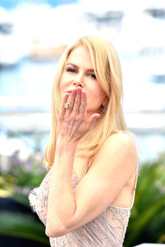 """CANNES, May 24, 2017 - Actress Nicole Kidman of the film """"The Beguiled"""" poses for a photocall in Cannes, France on May 24, 2017. The film """"The Beguiled"""" directed by American ... - Nicole Kidman"""