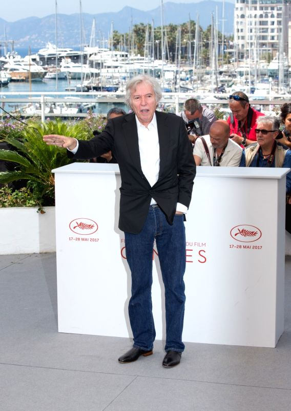 "CANNES, May 24, 2017 - French director Jacques Doillon poses for the photocall of the film ""Rodin"" during the 70th annual Cannes Film Festival at Palais des Festivals in Cannes, France, on ... - Jacques Doillon"