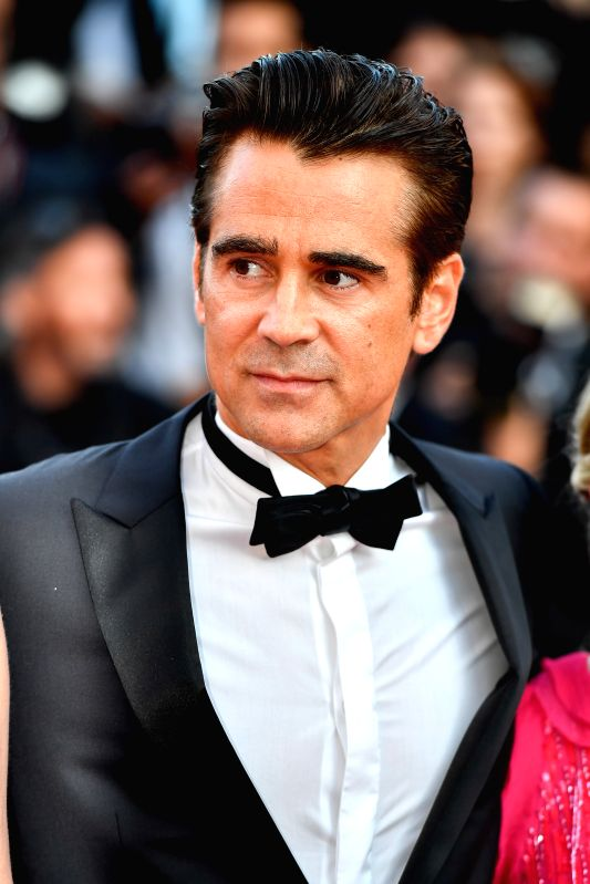 "CANNES, May 24, 2017 - Irish actor Colin Farrell poses for photos on the red carpet for the screening of the film ""The Beguiled"" in competition at the 70th Cannes Film Festival in Cannes, ... - Colin Farrell"