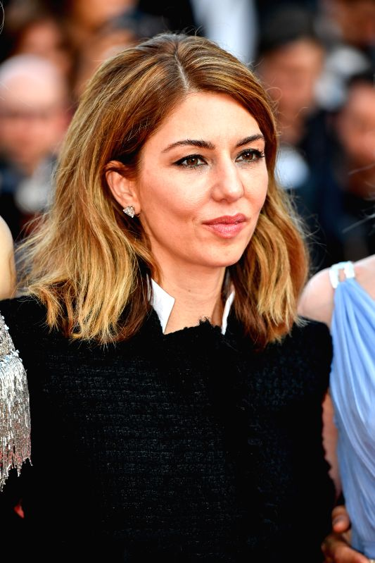 "CANNES, May 24, 2017 - U.S. director Sofia Coppola poses for photos on the red carpet for the screening of the film ""The Beguiled"" in competition at the 70th Cannes Film Festival in Cannes, ... - Sofia Coppola"