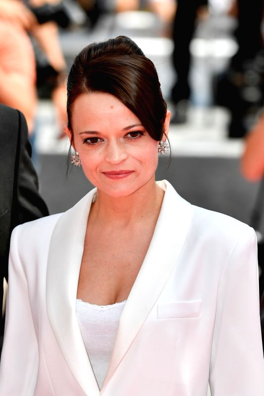 """CANNES, May 25, 2017 - Actress Vasilina Makovtseva poses for photos on the red carpet for the screening of the film """"A Gentle Creature"""" in competition at the 70th Cannes Film Festival in ... - Vasilina Makovtseva"""