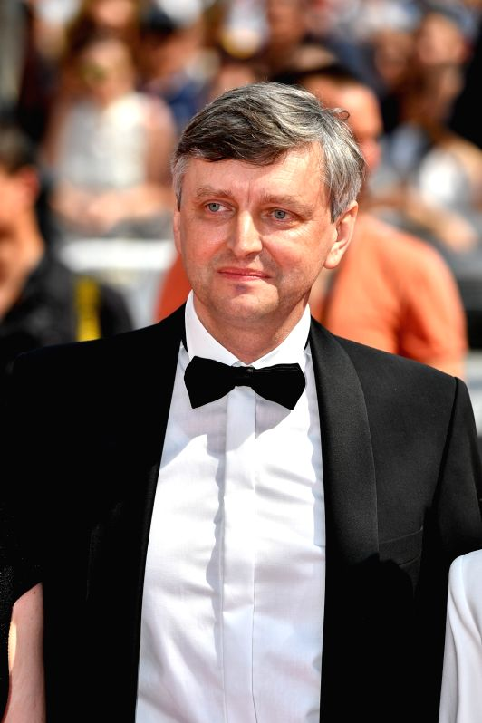 """CANNES, May 25, 2017 - Director Sergei Loznita poses for photos on the red carpet for the screening of the film """"A Gentle Creature"""" in competition at the 70th Cannes Film Festival in ..."""