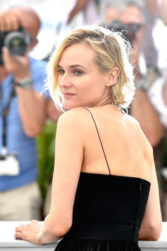 "CANNES, May 26, 2017 - Actress Diane Kruger of the film ""In the Fade"" poses for a photocall in Cannes, France on May 26, 2017. The film ""In the Fade"" directed by Fatih Akin will ... - Diane Kruger"