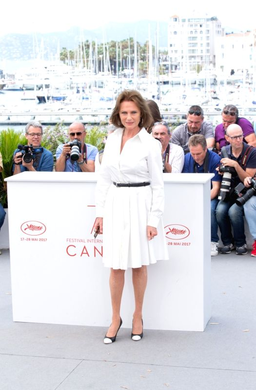"CANNES, May 26, 2017 - British actress Jacqueline Bisset poses for the photocall of the film ""Amant Double (The Double Lover) "" during the 70th annual Cannes Film Festival at Palais des ... - Jacqueline Bisset"