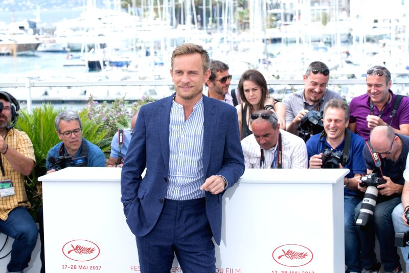 "CANNES, May 26, 2017 - French actor Jeremie Renier poses for the photocall of the film ""Amant Double (The Double Lover)"" during the 70th annual Cannes Film Festival at Palais des Festivals ... - Jeremie Renier"