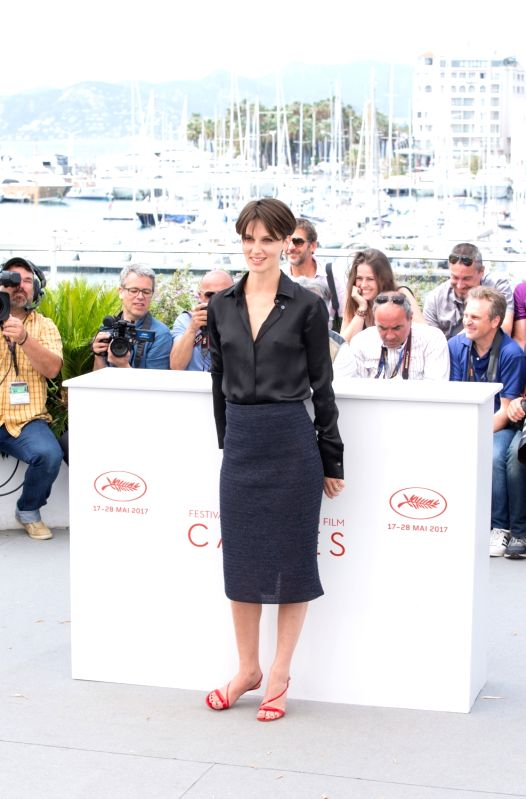 "CANNES, May 26, 2017 - French actress Marine Vacth poses for the photocall of the film ""Amant Double (The Double Lover)"" during the 70th annual Cannes Film Festival at Palais des Festivals ... - Marine Vacth"