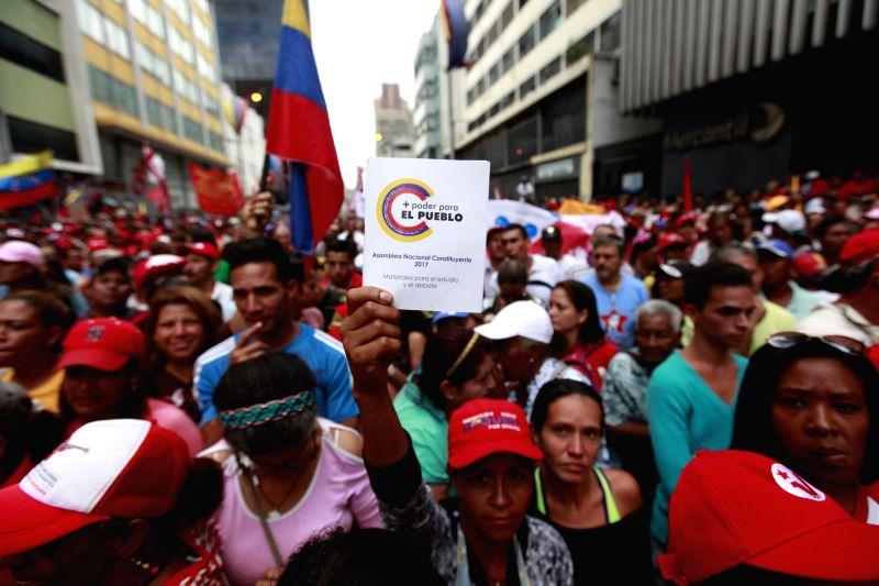VENEZUELA-CARACAS-ANC-ELECTION-CAMPAIGN
