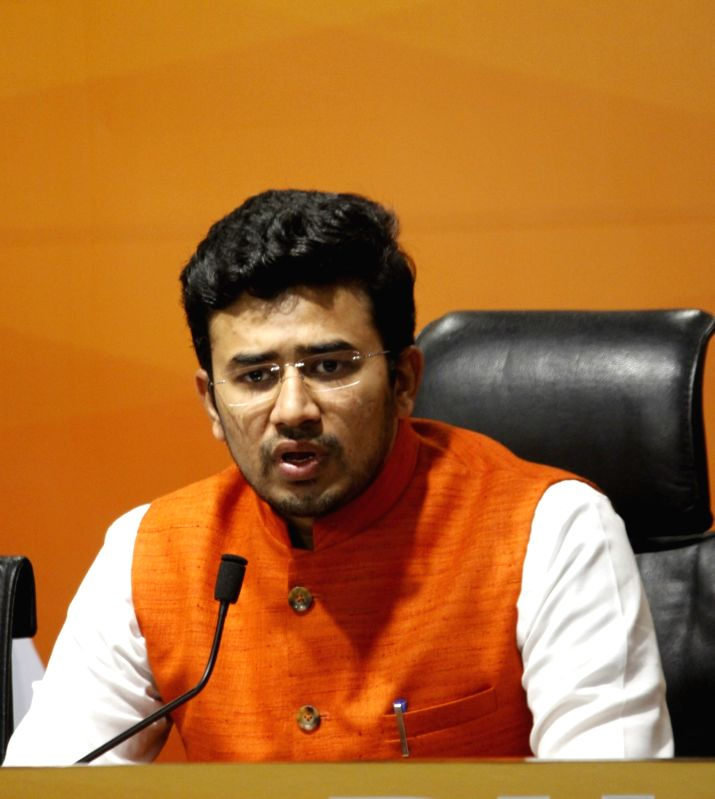 Case against Tejasvi Surya for meeting at Osmania University