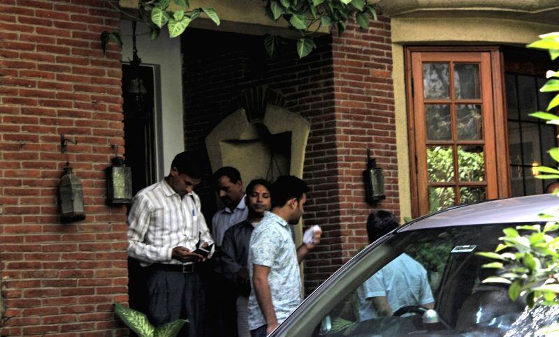 CBI conducts raids at NDTV founder Pronnoy Roy's residence in New Delhi on June 5, 2017. The agency registered a case against him and his wife for causing alleged loss to a bank. - Pronnoy Roy
