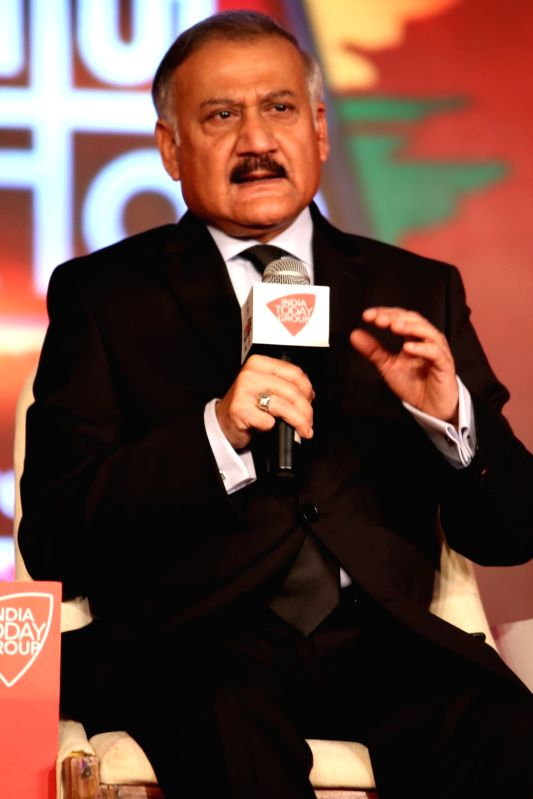 CBI Director Anil Sinha addresses at Agenda 15 organised by Aaj Tak in New Delhi, on Dec 11, 2015.