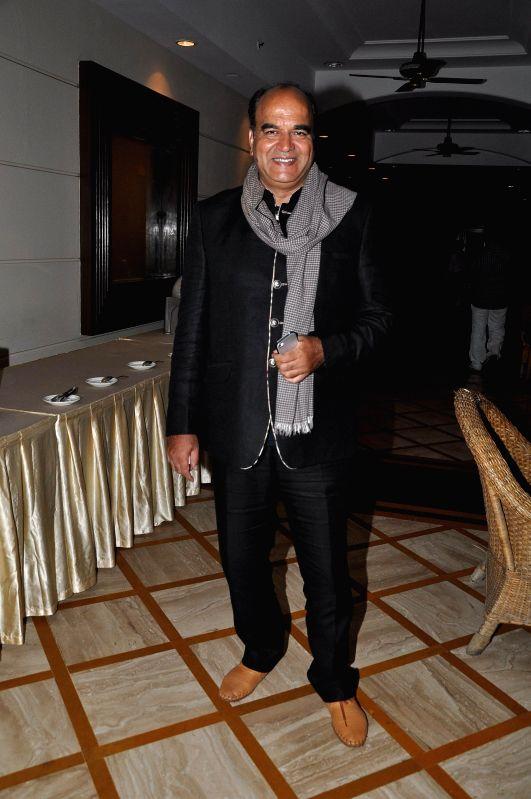 Celeb during the launch of album `Marudhar Mharo Ghar`, in Mumbai, on Aug. 21, 2014.