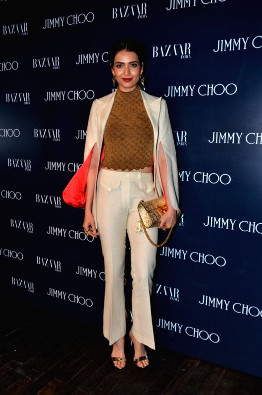 Celeb during the launch of Jimmy Choo Eyewear in Mumbai, on April 4, 2016.