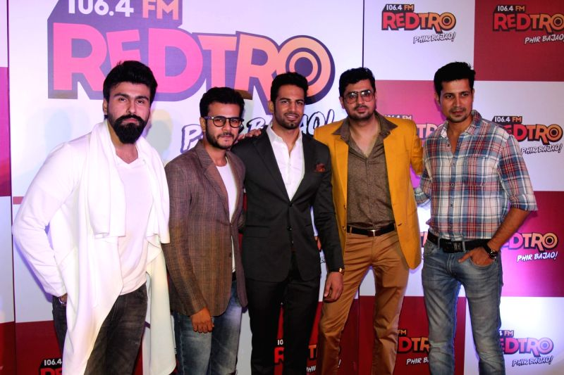 Celeb during the party organised by Red FM to celebrate the launch of its new radio station, Redtro 106.4 in Mumbai, on July 22, 2016.