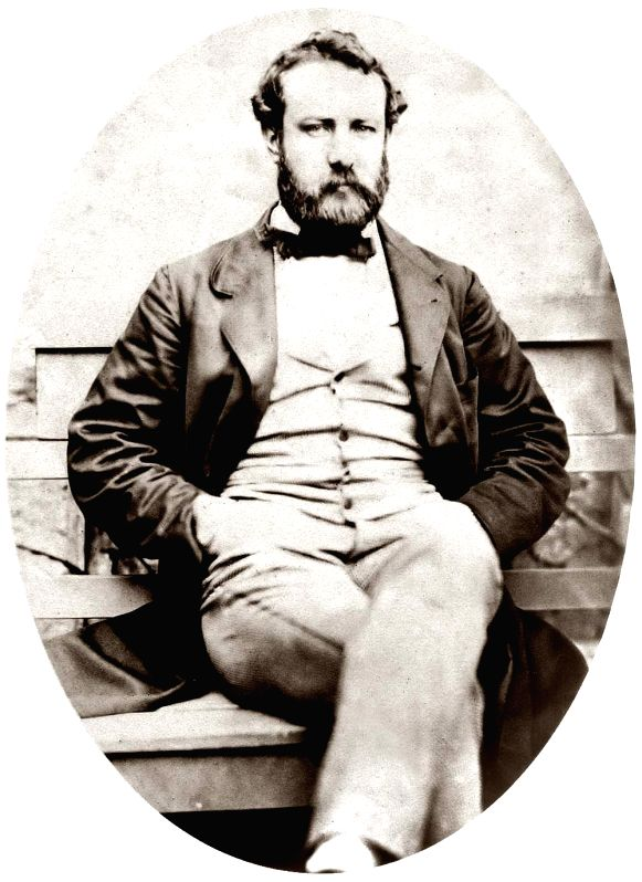 Celebrated French author Jules Verne in his heyday
