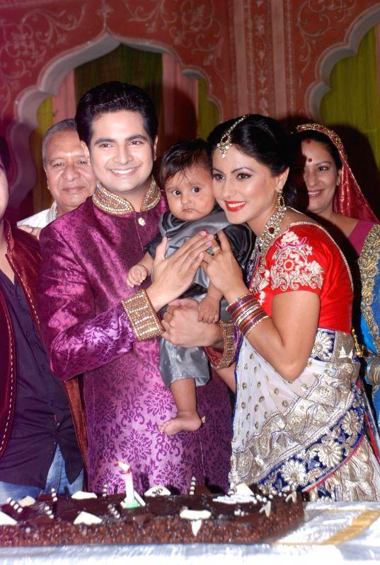 Celebrations at 'Yeh Rishta Kya Kehlata Hai' sets.