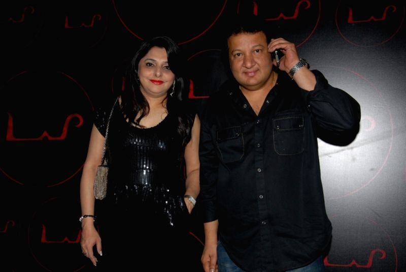 Celebrities Alka and Monu Bali at the unveiling of dynamic new look of `LAP` at Hotel Samrat, New Delhi.