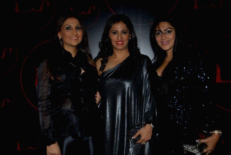 Celebrities Ammu Saidi, bela Madan with Saumya Khurana at the unveiling of dynamic new look of `LAP` at Hotel Samrat, New Delhi.