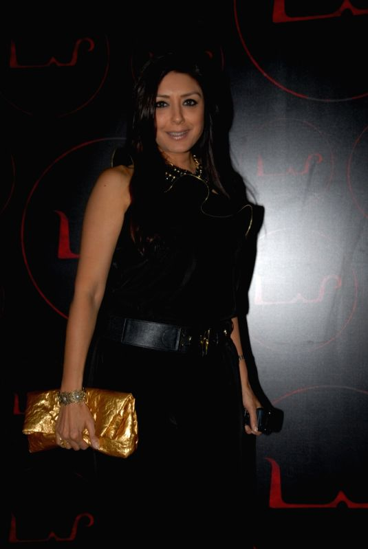 Celebrity Seema Puri at the unveiling of dynamic new look of `LAP` at Hotel Samrat, New Delhi.