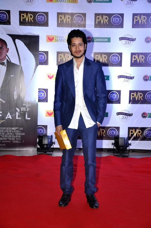 Celebs at during the premiere of English film Skyfall at PVR, Kurla in Mumbai.