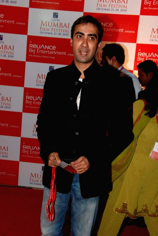Celebs at MAMI film festival at Chandan.