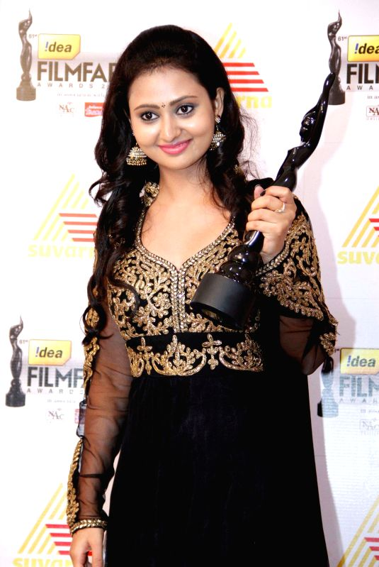 Celebs at the `61st Idea Filmfare South Awards 2013` held in Chennai at Nehru Stadium.