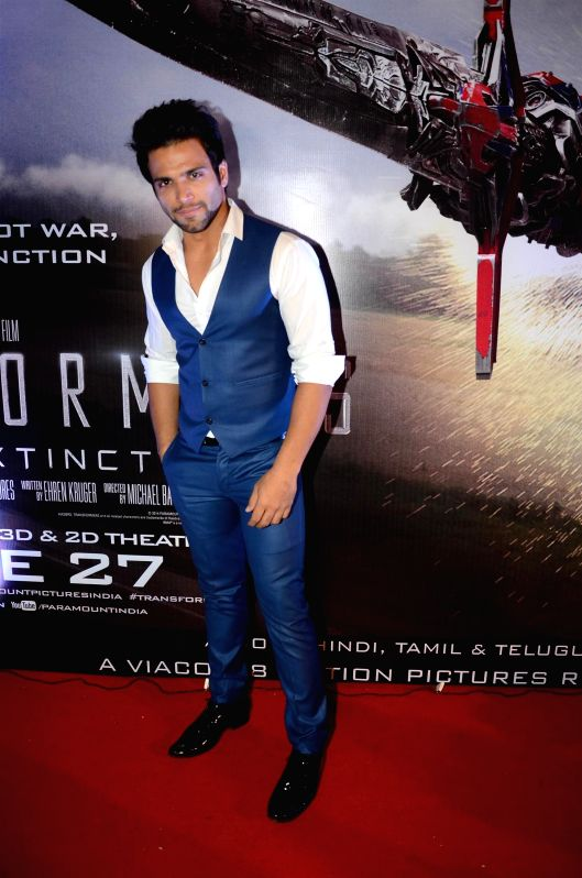 Celebs at the special screening of Transformers: Age of Extinction at PVR Cinemas in Mumbai on June 23, 2014.