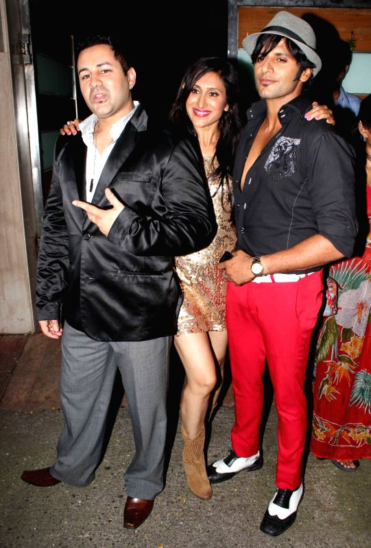 Celebs during film Shootout at Wadala success party at Ekta Kapoor`s bungalow in Mumbai on Sunday, May 5, 2013 - Ekta Kapoor