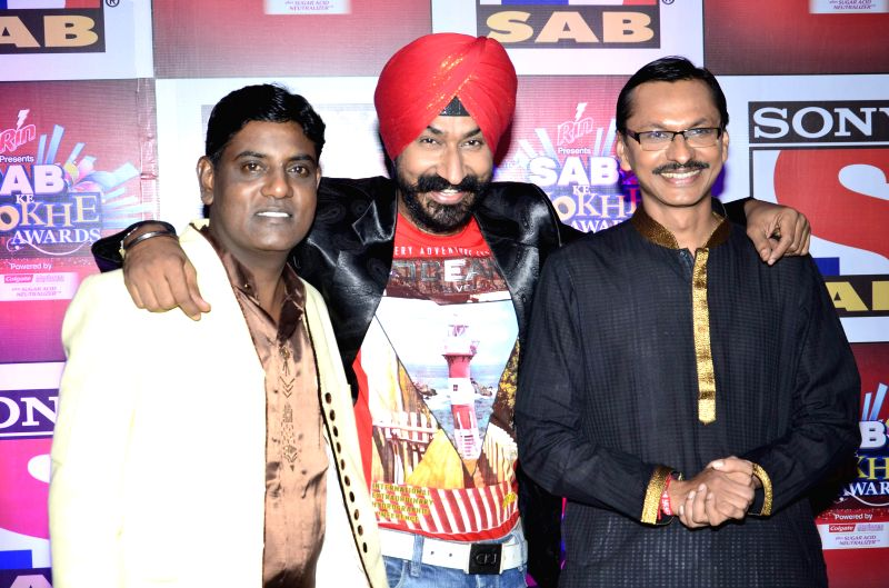 Celebs during SAB Ke Anokhe Awards 2014 in Mumbai, on August 12, 2014.