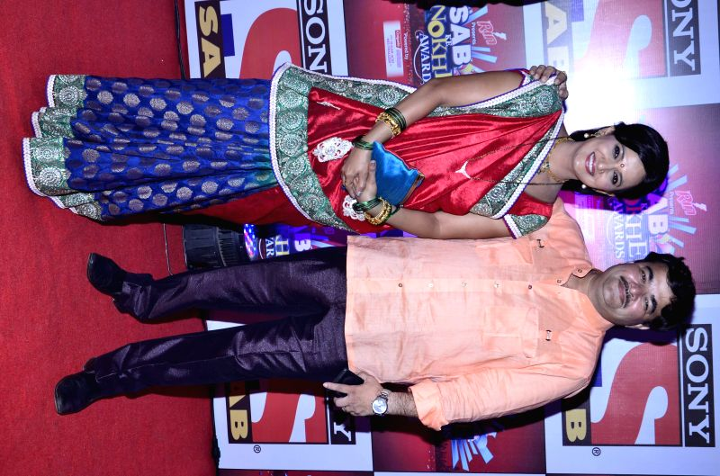 Celebs during SAB Ke Anokhe Awards 2014 in Mumbai, on August 12, 2014.