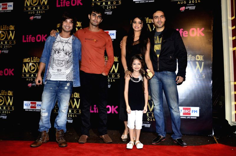 Celebs during the Big Life Ok Now Awards in Mumbai, on August 3, 2014.