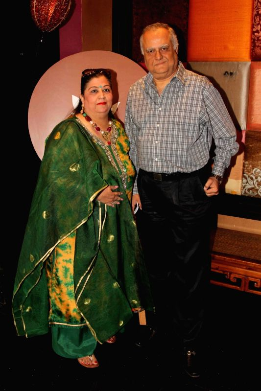 Celebs during the showcase of Padmasitaa Vivaha exhibition in Mumbai, on November 20, 2015.