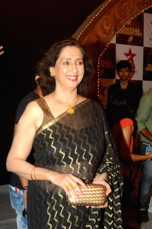 Celebs during the Star Parivaar award ceremony in Mumbai on June 21, 2014.