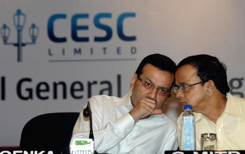 CESC chairman Sanjiv Goenka during annual general meeting of the company in Kolkata on July 30, 2014. - Sanjiv Goenka
