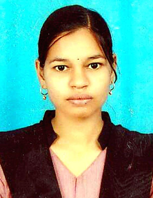Chaitra, who hails from Ballari district of Karnataka and has secured second rank (Arts) in the Karnataka Second PUC exams. (File Photo: IANS)