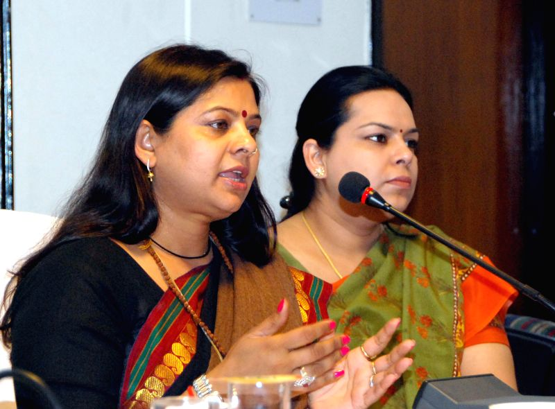 Haryana Women and Child Development Minister Kavita Jain presides over the State level Training Programme for Master Trainers of Beti Bachao Beti Padhao Programme in Chandigarh on April ... - Kavita Jain