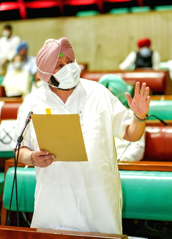 Punjab CM moves draft resolution to reject Centre's farm laws