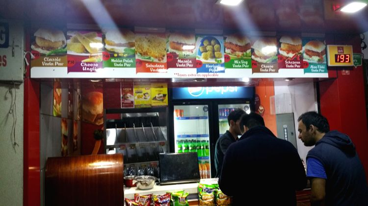 Chandigarh's 'Vada-Pav' Outlet 'Goli' in Sector 19.